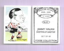 Sheffield United Jimmy Hagan 41 (FC)
